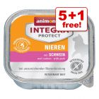 6 x 100g Integra Protect Feline Wet Cat Food - 5 + 1 Free!*